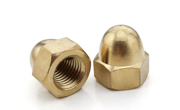 铜盖型螺帽